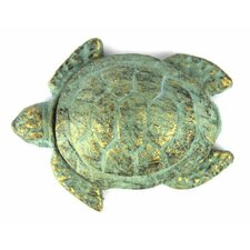 Cast Iron Decorative Turtle Paperweight