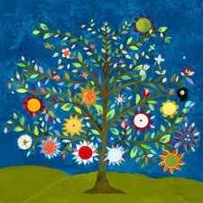'Tree of Life' by Caroline Blum Painting Print on Canvas