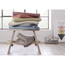 Mini Stripe Oversized Cotton Throw Blanket