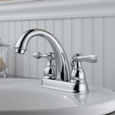 Windemere Centerset Bathroom Faucet with Metal Pop-Up Drain