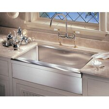 """Manor House 33"""" x 20.88""""  Apron Front Kitchen Sink"""