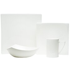 Extreme White 20 Piece Dinnerware Set, Service for 4