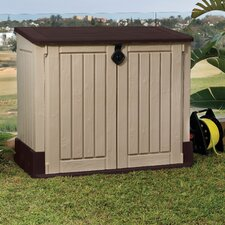 Store-It-Out MIDI 4.25 ft. W x 2.42 ft. D Plastic Horizontal Garbage Shed