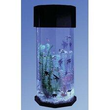 Aqua 10 Gallon Scape Octagon Aquarium Kit
