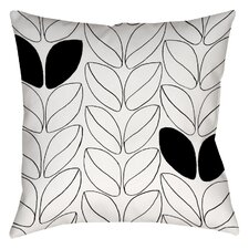 Divisible 2 Printed Throw Pillow
