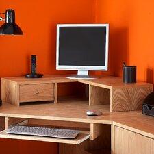 Oakwood 16cm H x 75cm W Desk Hutch