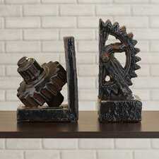 Gear Bookends (Set of 2)