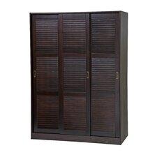 Three-Sliding Door Armoire