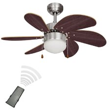 76cm Typhoon 6-Blade Ceiling Fan with Remote