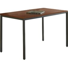 Parson with Steel Frame Rectangular Writing Desk