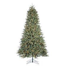 Toledo 9' Green Pine Artificial Christmas Tree with 1000 Incandescent Clear Lights