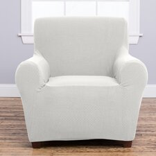 Amilio Armchair Slipcover  by Home Fashion Designs