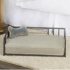 Casual Decorative Metal Dog Bed