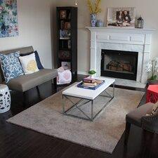 "Sarasota Residential 24"" X 24"" Carpet Tile in Oyster Bay Beige"