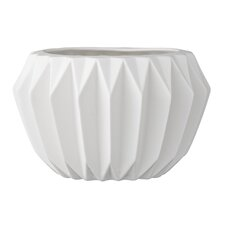 Trenton Fluted Ceramic Pot Planter