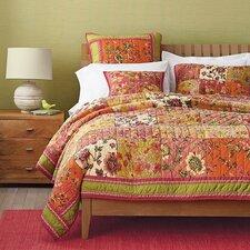 Roses Floral Quilt Set
