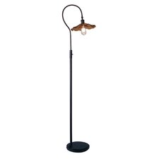"""Burnt Sienna 70"""" Arched Floor Lamp"""
