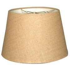 "Timeless Tapered 18"" Burlap Empire Lamp Shade"