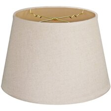"""Timeless Tapered 20"""" Linen Empire Lamp Shade"""