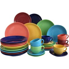 Top Colours 30 Piece Dinnerware Set, Service for 6
