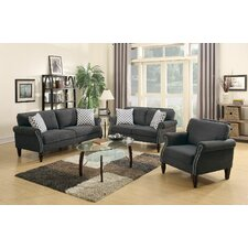 3-Piece Living Room Set  by Infini Furnishings