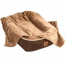 Snoozzy Reversible Plush Blanket