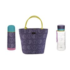 Outline Insulated Picnic Tote Bag Set
