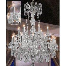 Maria Theresa 18-Light Crystal Chandelier