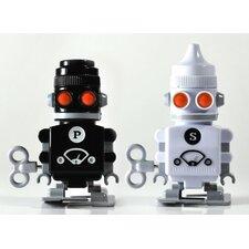 2-tlg. Salz-und Pfefferstreuer-Set Bot
