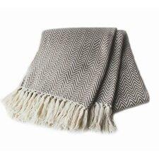 Herringbone Yarn Dyed 100% Cotton Throw