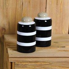 2 Piece Salt and Pepper Shaker Set