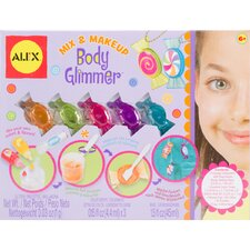 Mix and Make Up Body Glimmer Kit