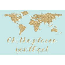 'Oh the Place You Will Go' Graphic Art