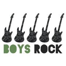 'Boys Rock Graphic Art