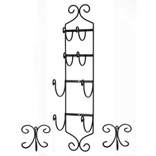 High Quality Wall Mounted Towel Hook and Hook Rack Set