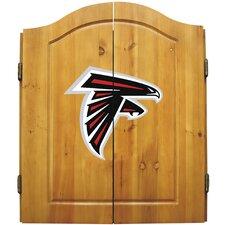NFL Dart Cabinet