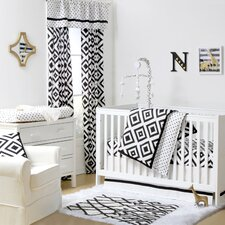 Deco Diamond 4 Piece Crib Bedding Set