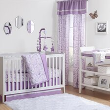 Rose 4 Piece Crib Bedding Set