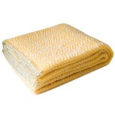 Luminous Mohair Wool Throw