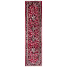Kashan Hand-Woven Red Area Rug
