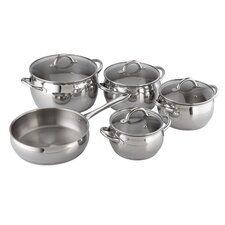 Kuchen Stainless Steel 9 Piece Cookware Set
