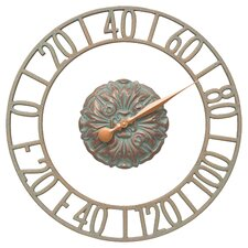 Cambridge Floating Ring Indoor/Outdoor Wall Thermometer