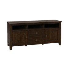 Cadwallader Acacia Wood TV Stand
