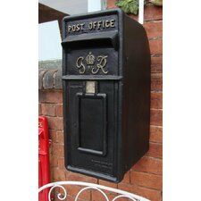 Verschließbarer Briefkasten Nachbildung Royal Mail GR