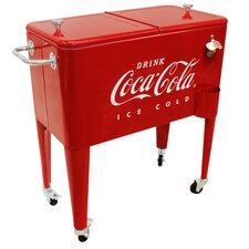 65 Qt. Coca-Cola Embossed Ice Cold Cooler