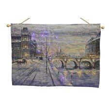 Winter Bridge Fibre Optic Tapestry