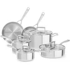 Tri-Ply 10-Piece Cookware Set
