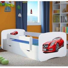 Kinderbett Mercedes mit Matratze und Schublade