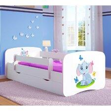 Kinderbett Elephant mit Matratze und Schublade