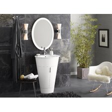 "Leonie 23"" Single Bathroom Vanity with Mirror"